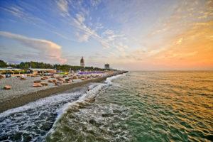 Batumi Sea Coast